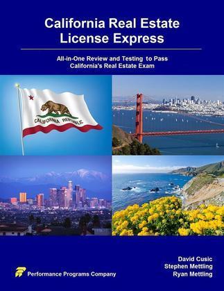 California Real Estate License Express