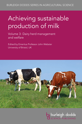 Achieving sustainable production of milk Volume 3