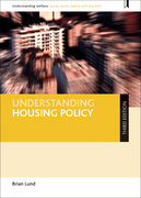 Understanding Housing Policy (Third Edition)