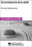 De la recherche de la vérité de Nicolas Malebranche