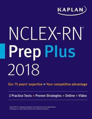 NCLEX-RN Prep Plus 2018