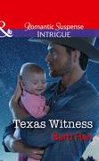 Texas Witness (Mills & Boon Intrigue) (Cattlemen Crime Club, Book 5)