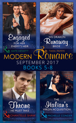 Modern Romance September 2017 Books 5 - 8 (Mills & Boon e-Book Collections) (One Night With Consequences, Book 33)