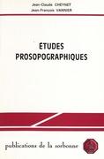 Études prosopographiques