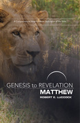 Genesis to Revelation: Matthew Participant Book