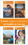 Harlequin Superromance September 2017 Box Set: Wrangling the Rancher / Montana Unbranded / Breakup in a Small Town / The Littlest Boss (Mills & Boon Superromance)