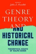 Genre Theory and Historical Change