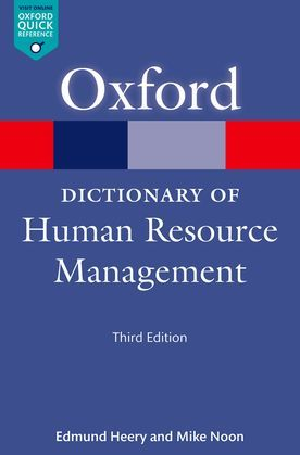 A Dictionary of Human Resource Management