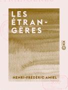Les Étrangères - Poésies traduites de diverses littératures