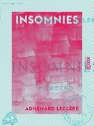 Insomnies - Poésies