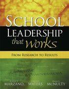 School Leadership That Works