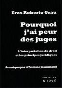 POURQUOI J'AI PEUR DES JUGES