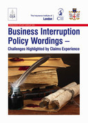 Business Interruption Policy Wordings