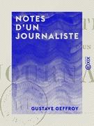 Notes d'un journaliste - Vie, littérature, théâtre