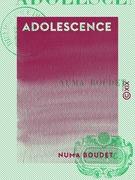 Adolescence - Poésies