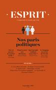 Esprit septembre 2017 - Nos paris politiques