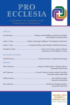 Pro Ecclesia Vol 26-N3