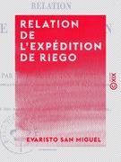 Relation de l'expédition de Riego