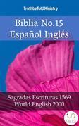 Biblia No.15 Español Inglés