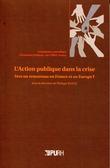 L'action publique dans la crise