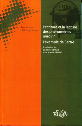 L'écriture et la lecture : des phénomènes miroir ? L'exemple de Sartre