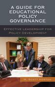 A Guide for Educational Policy Governance