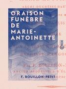 Oraison funèbre de Marie-Antoinette