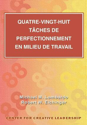 Eighty-eight Assignments for Development in Place (French Canadian)