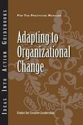 Adapting to Organizational Change