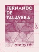 Fernando de Talavera - Archevêque de Grenade de 1493 à 1507, poursuivi par l'Inquisition