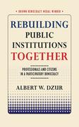 Rebuilding Public Institutions Together