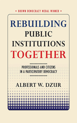 Rebuilding Public Institutions Together