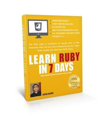 LEARN RUBY IN 7 DAYS