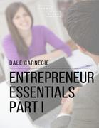 Entrepreneur Essentials: Part I