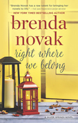 Right Where We Belong (Silver Springs, Book 4)