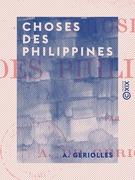 Choses des Philippines