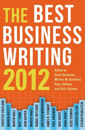 Best Business Writing 2012
