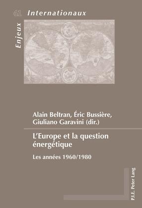 L'Europe et la question énergétique