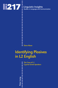 Identifying Plosives in L2 English