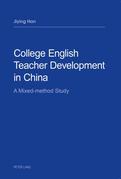 College English Teacher Development in China