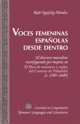 Voces femeninas españolas desde dentro