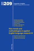 New trends and methodologies in applied English language research III