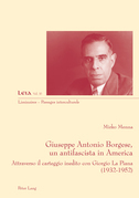 Giuseppe Antonio Borgese, un antifascista in America