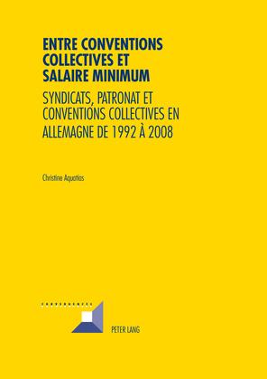 Entre conventions collectives et salaire minimum