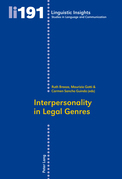 Interpersonality in Legal Genres