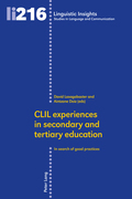 CLIL experiences in secondary and tertiary education