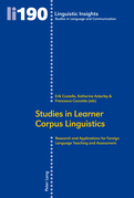 Studies in Learner Corpus Linguistics