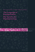 The Language of Popularization- Die Sprache der Popularisierung