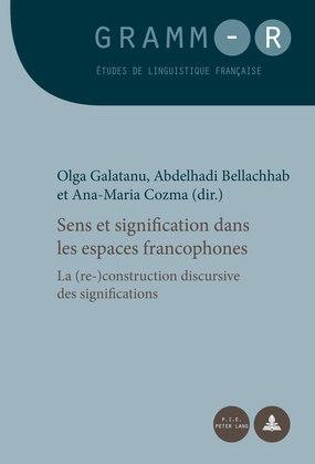 Sens et signification dans les espaces francophones