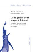 De la genèse de la langue à Internet